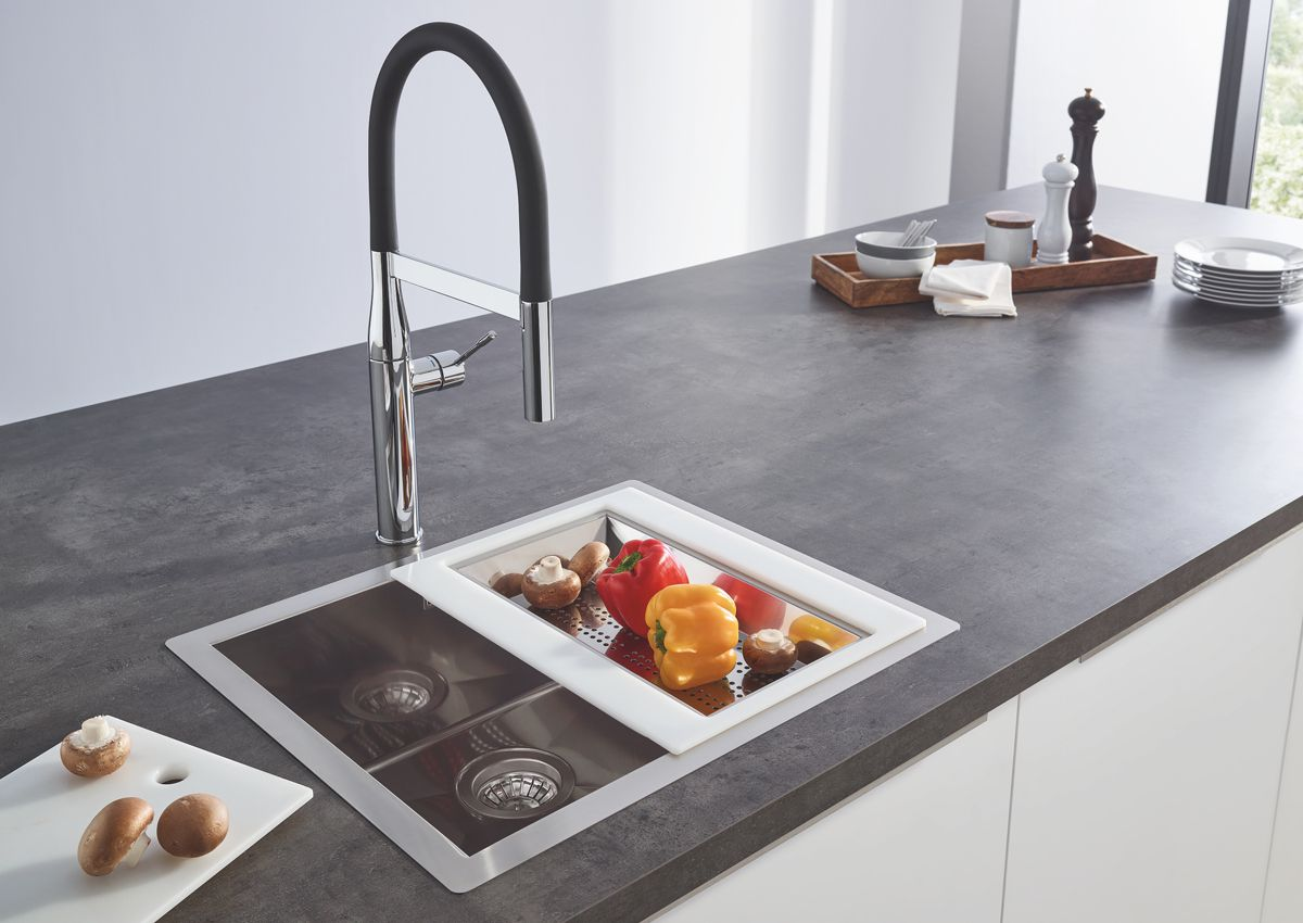 Küchenspülen von GROHE - Von der Preiseinstiegslösung bis hin zur ...